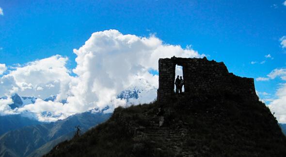 Cachicata Moon stone to Machu Picchu trek hikes to Machu Picchu