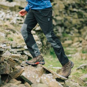 Long trousers for hiking