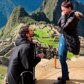 Slipknot drummer asked his girlfriend in Machu Picchu to marry