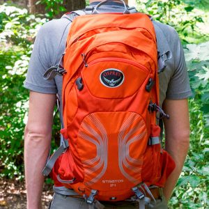 luggage for hiking