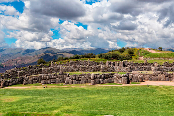 The fortressSacsayhuaman