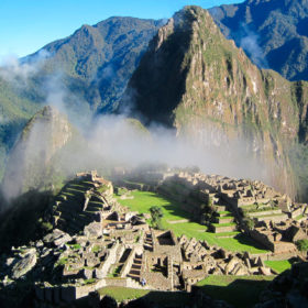 Hiking at Machu Picchu, beyond the archeological site